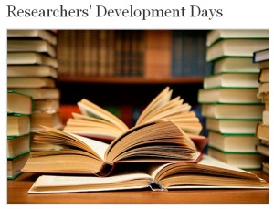 Researchers development day